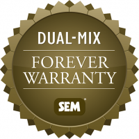 Dual-Mix Forever Warranty Logo