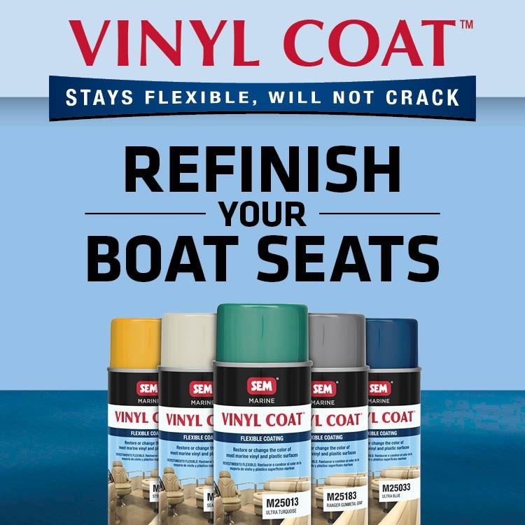 Restore & Refresh Your Marine Vinyl in Minutes