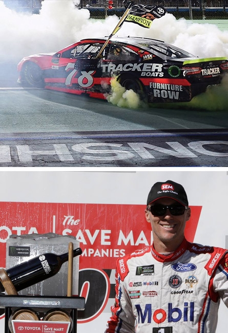 2017 MONSTER ENERGY NASCAR CUP SERIES CHAMPION – Martin Truex, Jr/Furniture Row Racing and Kevin Harvick of Stewart Haas Racing 3rd place finisher