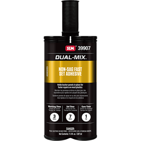 Dual-Mix™ Non-Sag Fast Set Adhesive - Discontinued - 39907