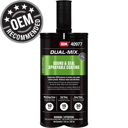 Dual-Mix™ Sound & Seal Sprayable Coating - 40977