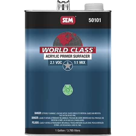 World Class™ Acrylic Primer Surfacer - Discontinued - 50101
