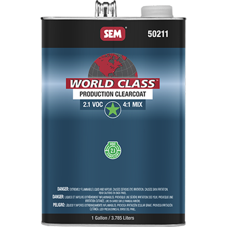 World Class™ 2.1 VOC Production Clearcoat - 50211