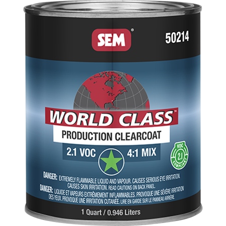 World Class™ 2.1 VOC Production Clearcoat - 50214