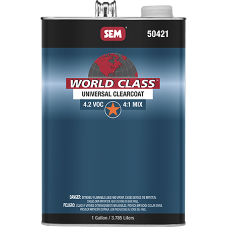 World Class™ 4.2 VOC Universal Clearcoat - 50421