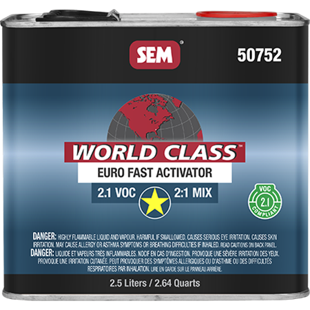 World Class™ 2.1 VOC Euro Clear - 50752