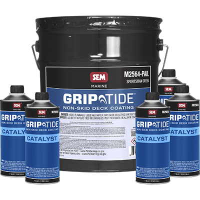 GripTide™ Non-Skid Deck Coating - M25645