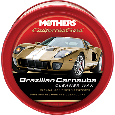 Mothers® California Gold® Brazilian Carnauba Cleaner Wax - MOT.05500