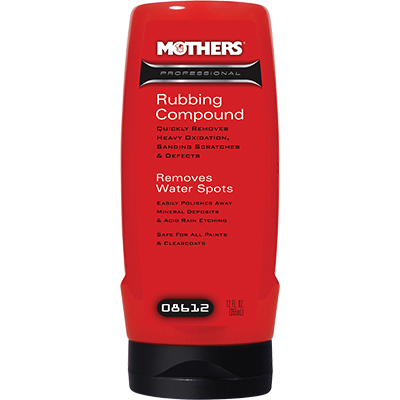 Mothers® Professional Rubbing Compound - MOT.08612