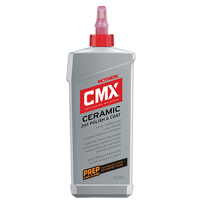 Mothers® CMX® Ceramic 3-IN-1 Polish & Coat