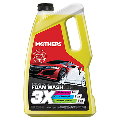 Mothers® Triple Action Foam Wash