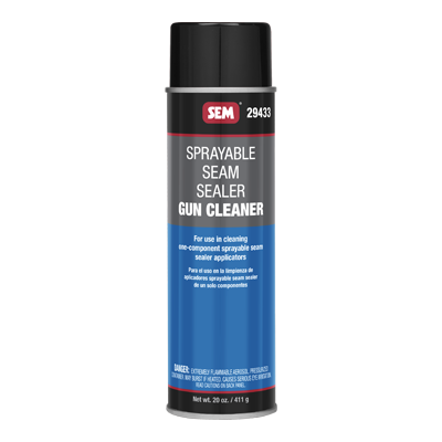 Sprayable Seam Sealer Gun Cleaner
