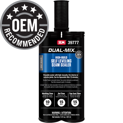 Dual-Mix™ High-Build Self Leveling Seam Sealer