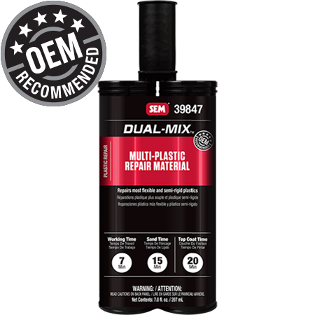 Dual-Mix™ Multi-Plastic Repair Material