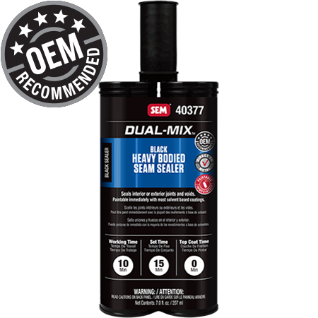 Dual-Mix™ Heavy Bodied Black Seam Sealer