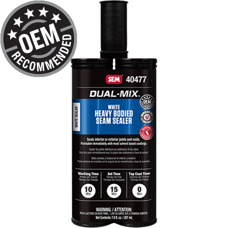 Dual-Mix™ Heavy Bodied White Seam Sealer
