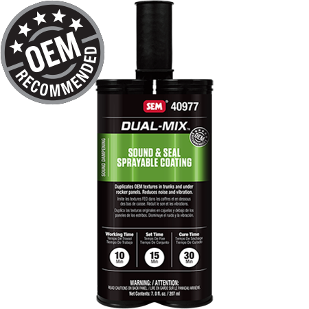Dual-Mix™ Sound & Seal Sprayable Coating
