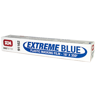 Featured Product, Extreme Blue Plastic Masking Film
