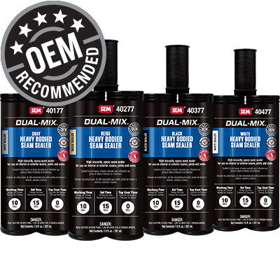 Dual-Mix™ Heavy Bodied Seam Sealer