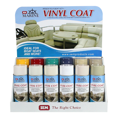 Marine Vinyl Coat 12 Can Assortment