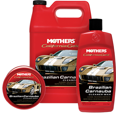 Mothers® California Gold® Brazilian Carnauba Cleaner Wax