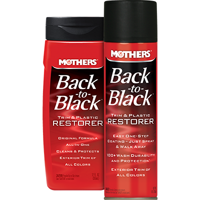 Mothers® Back-to-Black® Trim & Plastic Restorer