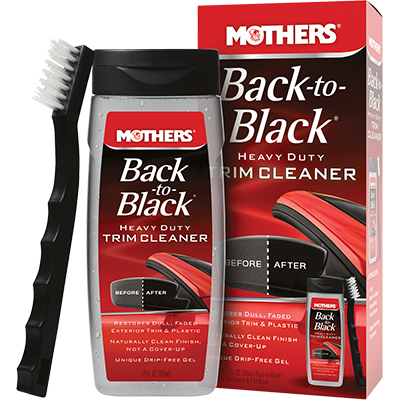 Mothers® Back-to-Black® Heavy Duty Trim Cleaner Kit