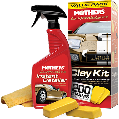 Mothers® California Gold® Clay Kit