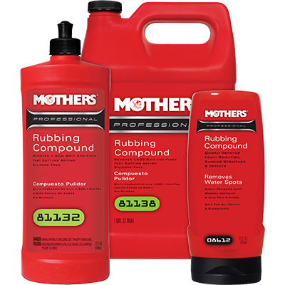 Mothers® Professional Rubbing Compound