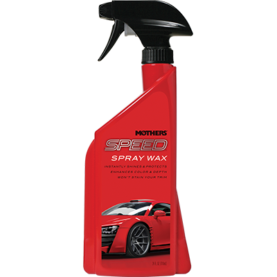 Mothers® Speed® Spray Wax