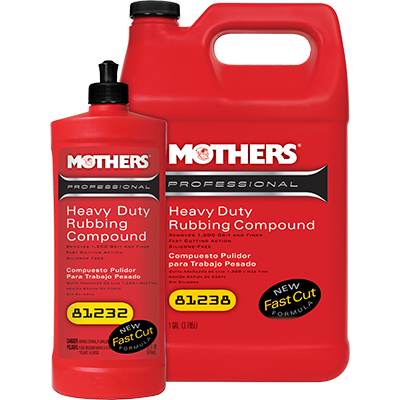 Mothers® Professional Heavy Duty Rubbing Compound
