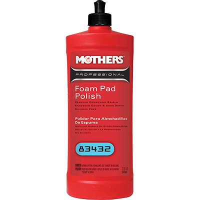 Mothers® Professional Foam Pad Polish