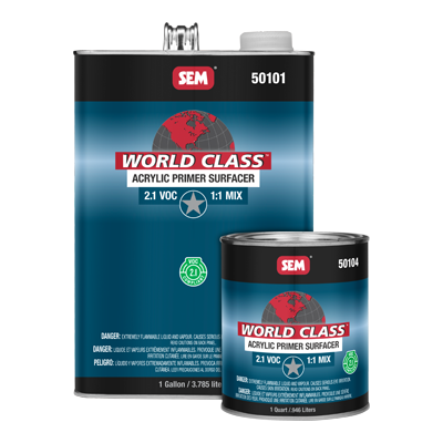 World Class™ Acrylic Primer Surfacer