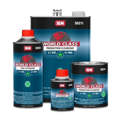 World Class™ 2.1 VOC Production Clearcoat
