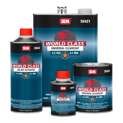 World Class™ 4.2 VOC Universal Clearcoat